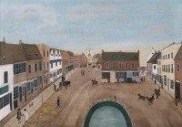 Wantage Market Place early 19th C